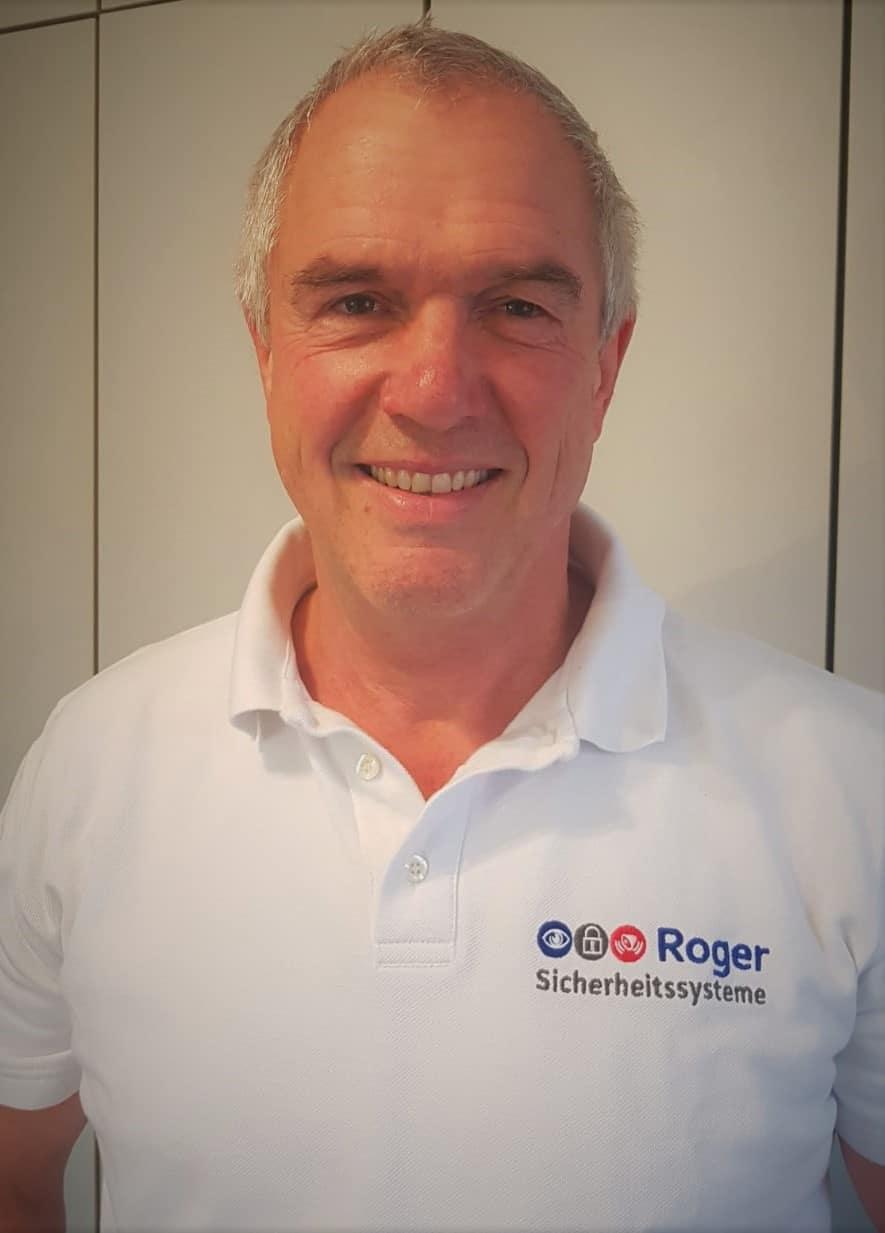 Ernst Georg Roger, Geschäftsführer Roger Sicherheitssysteme GmbH